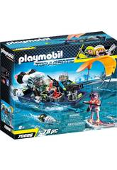 Playmobil Team S.H.A.R.K. Nave con Arpione 70006