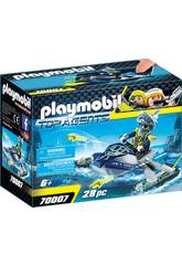Playmobil Team S.H.A.R.K. Fusée 70007