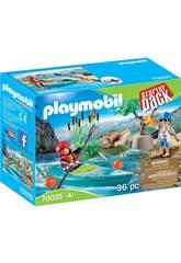 Playmobil Starter Pack Kanu-Abenteuer 70035