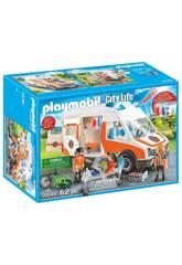 Playmobil Ambulância com Luzes 70049