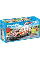 Playmobil Voiture de Secours avec une Sirène 70050
