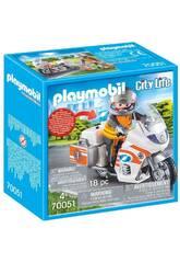 Playmobil Moto d'emergenza 70051