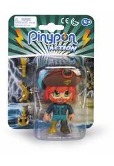 Pinypon Action Pirate Chapeau Marron Famosa 700015581