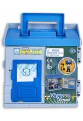 Pinypon Action Mixópolis Stazione di Polizia con Figura Polizia Famosa 700015585