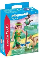 Playmobil Hada con Cervatillo 70059
