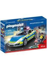 Playmobil Porsche 911 Course 4S Police 70066