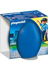 Playmobil Polizia con Cane 70085