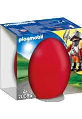 Playmobil Chevalier avec Canon 70086
