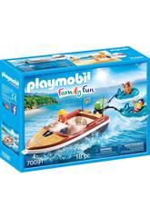 Playmobil Lancha con Flotadores 70091