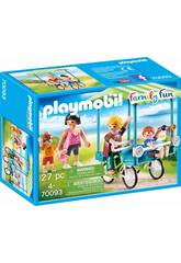 Playmobil Bicicleta Familiar70093