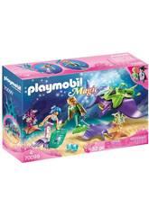 Playmobil Raccoglitori di Perle con Manta Playmobil 70099