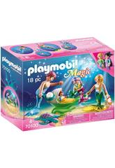 Playmobil Familie mit Kinderwagen Playmobil 70100