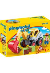 Playmobil 1,2,3 Excavatrice Playmobil 70125