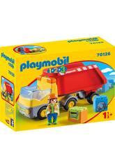 Playmobil 1,2,3 Camión de Consturcción Playmobil 70126