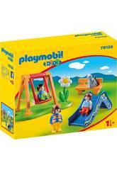 Playmobil 1,2,3 Kinderspielplatz von Playmobil 70130