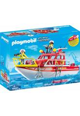 Playmobil Bateau de Sauvetage 70147