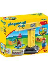 Playmobil 1,2,3 Kran von Playmobil 70165