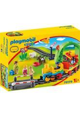 Playmobil 1,2,3 Mein Erster Zug Playmobil 70179