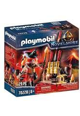 Playmobil Novelmore Maestro del Fuego Bandidos Burnham Playmobil 70228