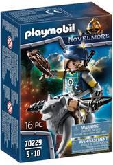 Playmobil Novelmore Homem-besta com Lobo Playmobil 70229