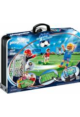 Playmobil Maletín Campo de Fútbol 70244