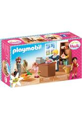 Playmobil Heidi Tienda de Comestibles Familia Keller Playmobil 70257