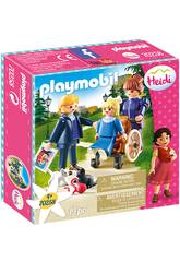 Playmobil Clara, Padre e Srta. Rottenmeier Playmobil 70258