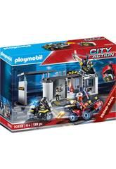 Playmobil Stazione di Polizia Forze Speciali Valigetta Playmobil 70338