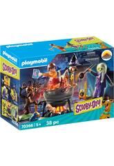 Playmobil Scooby-Doo Abenteuer im Hexenkessel 70366