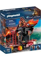 Playmobil Novelmore Ariete di Fuoco dei Banditi di Burnham 70393