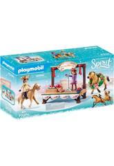 Playmobil Spirit Concierto de Navidad 70396