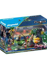 Playmobil Nascondiglio Pirata Playmobil 70414