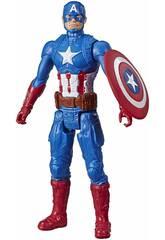 Avengers Titã Hero Capitão América Hasbro E7877