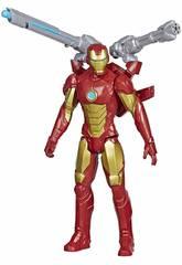 Avengers Figura Titán con Accesorios Iron Man Hasbro E7380