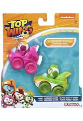 Top Wing Pack 2 Mini Vehículos Brody and Betty Racers Hasbro E5352