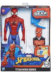 Spiderman Figurine Titan avec des Accessoires Hasbro E7344