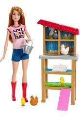 Barbie Je Peux Être Fermière Mattel FXP15