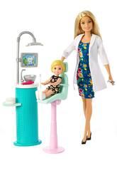 Barbie Eu Posso Ser Dentista Mattel FXP16