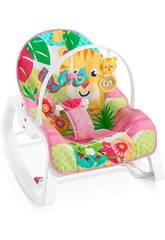 Fisher Price Rede Balancé Crece Comigo Cor-de-rosa Mattel GNV70