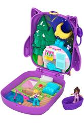 Polly Pocket Coffre Polly & Shani Owl Camp Mattel GKJ47