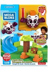 Mega Bloks Panda Wirf und Rolle Von Peek a Block Mattel GKX68