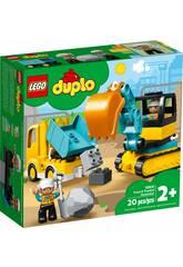 Lego Duplo Town Camión y Excavador con Orugas 10931