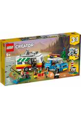 Lego Creator Vacances en Famille en Caravane 31108