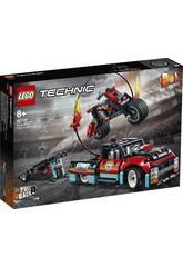 Lego Technic Spectacle Acrobatique Camion et Moto 42106