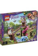 Lego Friends Base de Rescate en la Jungla 41424