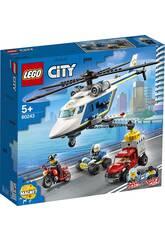 Lego City Police Poursuites de mise en Hélicoptère 60243
