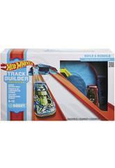 Hot Wheels Track Builder Unlimited Pack di Propulsore di Curve Mattel GLC93