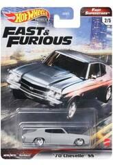 Hot Wheels Vehículos Fast & Furious Mattel GBW75