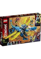 Lego Ninjago Cyberdrago di Jay 71711