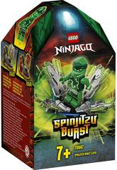 Lego Ninjago Spinjitzu Explosivo Lloyd 70687